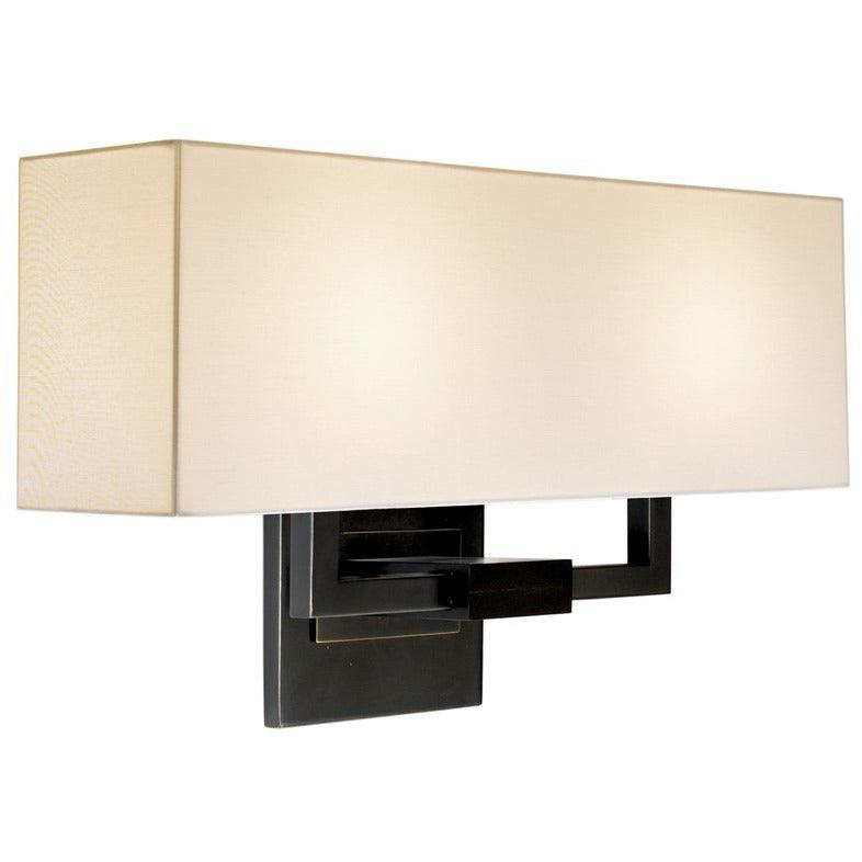Sonneman - A Way of Light - 3384.51 - Two Light Wall Sconce - Hanover - Black Brass