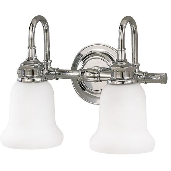 Hudson Valley - 3802-PC - Two Light Bath Bracket - Plymouth - Polished Chrome