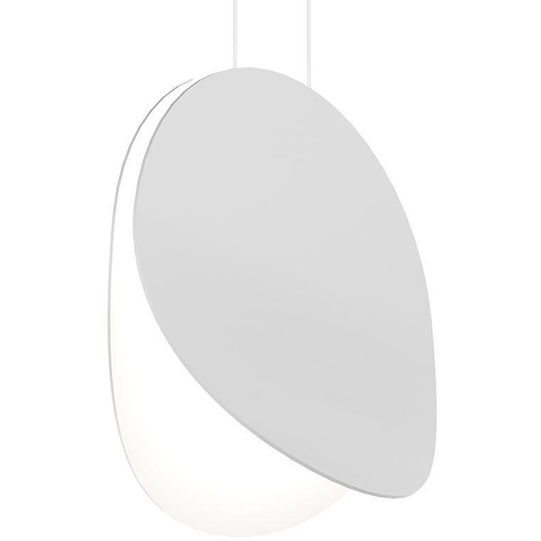 Sonneman - A Way of Light - 1767.03 - LED Pendant - Malibu Discs - Satin White