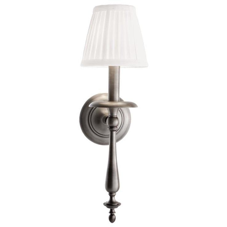 Hudson Valley - 431-AN - One Light Wall Sconce - Quincy - Antique Nickel