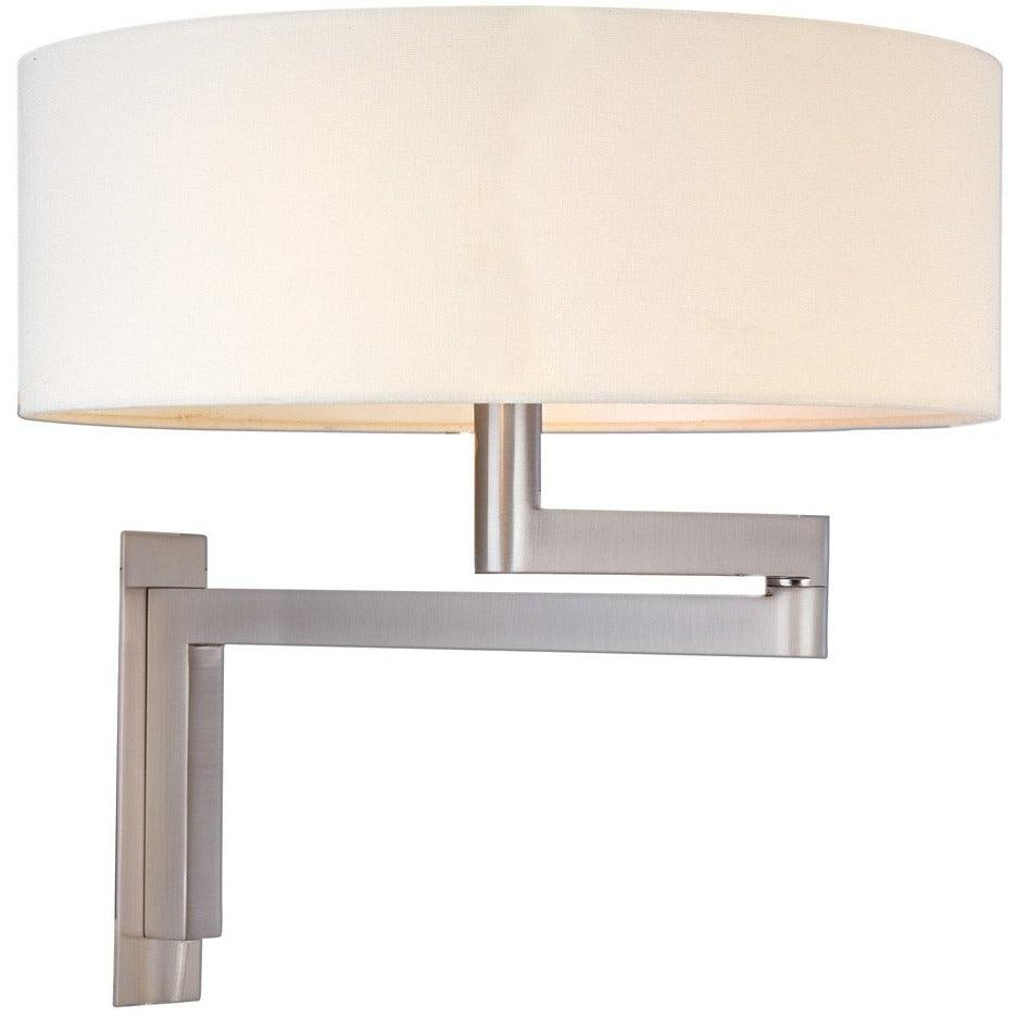 Sonneman - A Way of Light - 3620.13 - Two Light Wall Sconce - Osso - Satin Nickel
