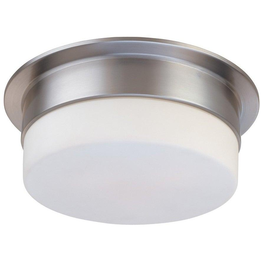 Sonneman - A Way of Light - 3741.13 - One Light Surface Mount - Flange - Satin Nickel