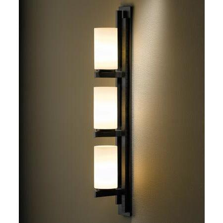 Hubbardton Forge - 206309-SKT-LFT-07-GG0168 - Three Light Wall Sconce - Ondrian - Dark Smoke