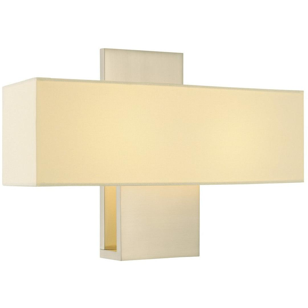 Sonneman - A Way of Light - 1861.13 - Two Light Wall Sconce - Ombra - Satin Nickel