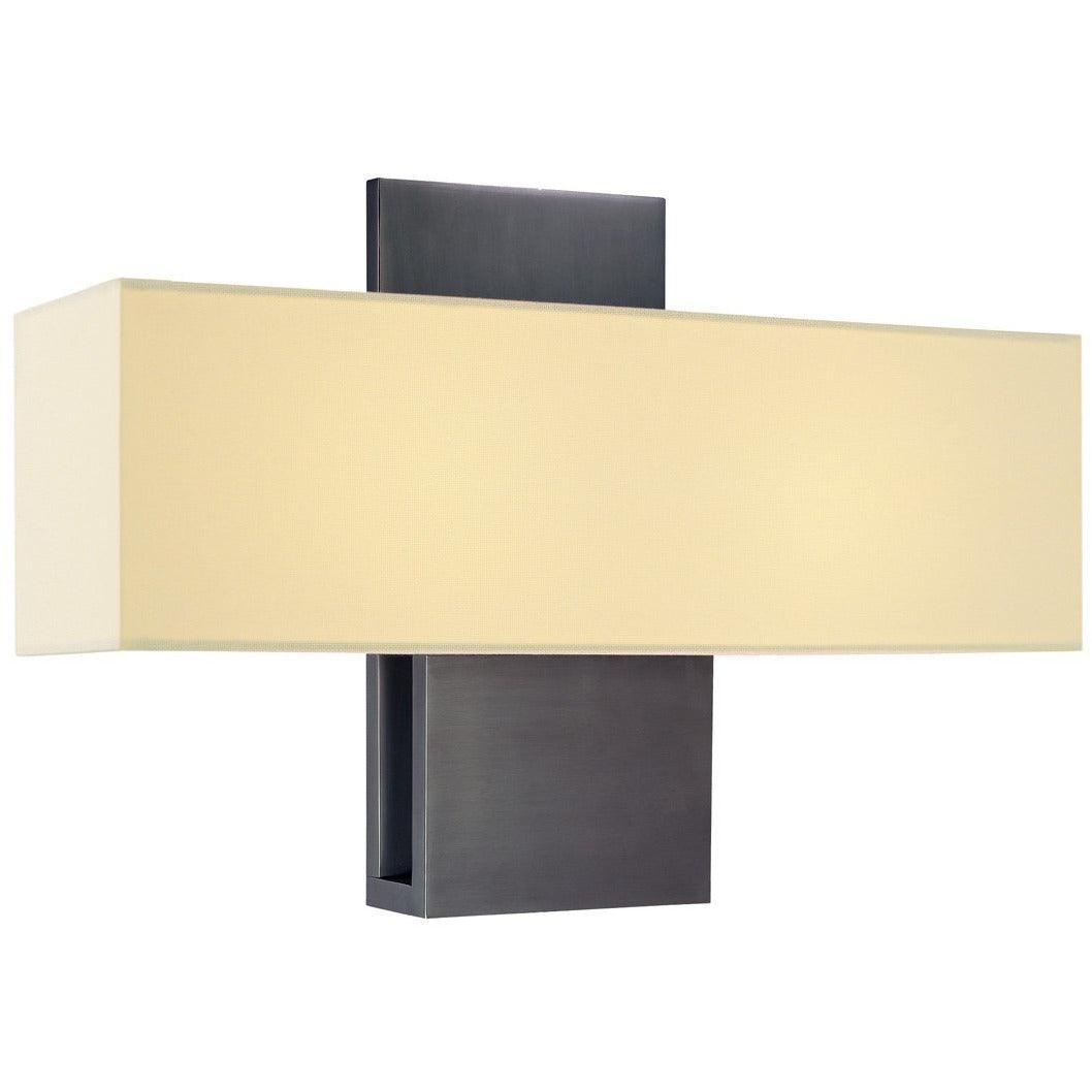 Sonneman - A Way of Light - 1861.24 - Two Light Wall Sconce - Ombra - Rubbed Bronze