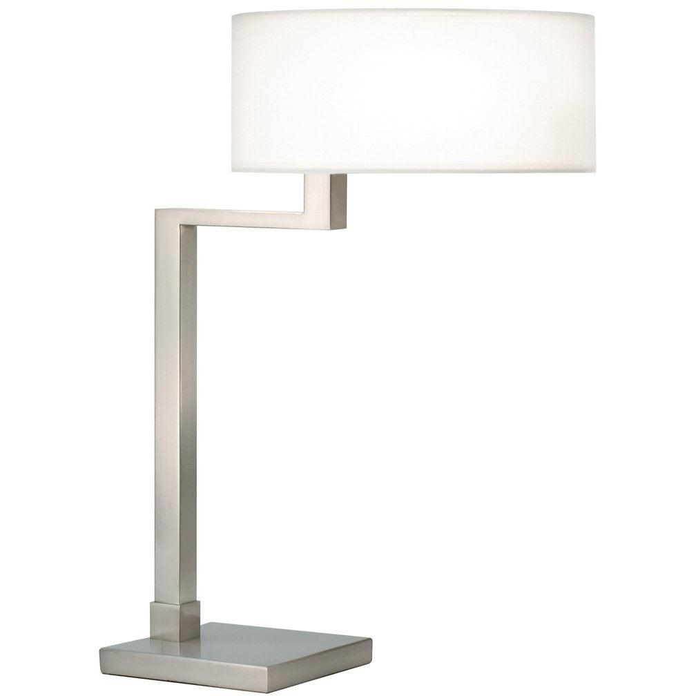 Sonneman - A Way of Light - 6080.13 - Two Light Table Lamp - Quadratto - Satin Nickel