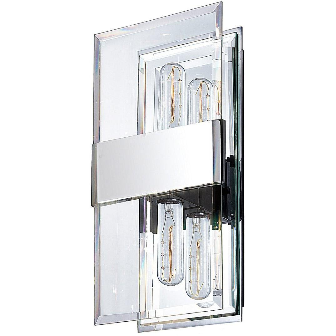 Sonneman - A Way of Light - 4282.01 - Two Light Wall Sconce - Mercer Street - Polished Chrome
