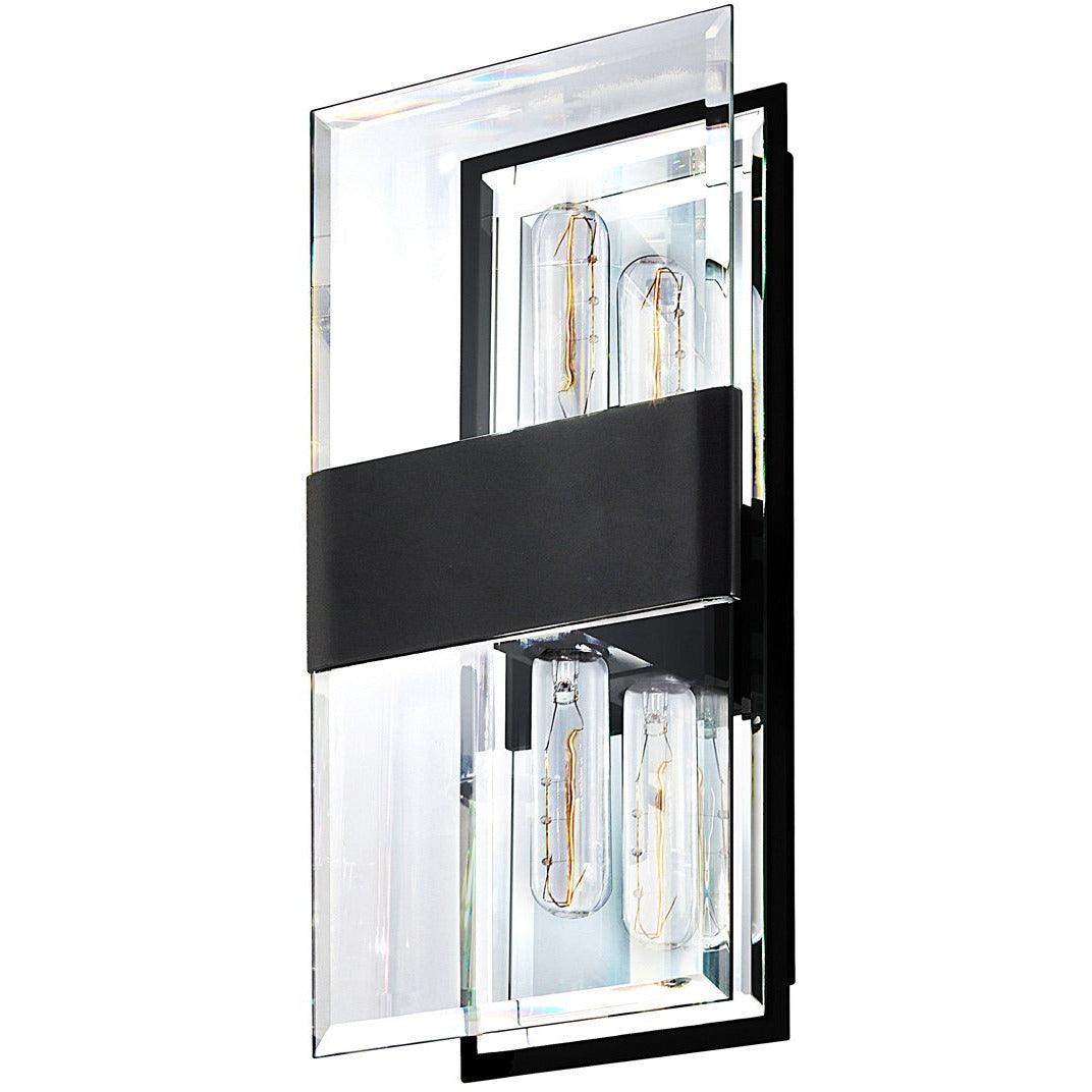 Sonneman - A Way of Light - 4282.25 - Two Light Wall Sconce - Mercer Street - Satin Black