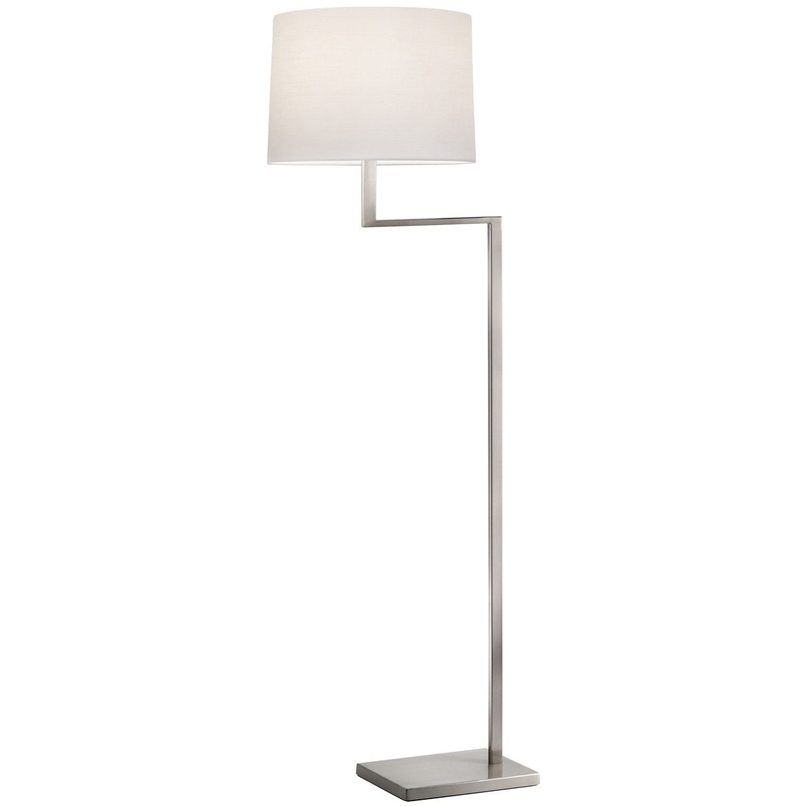 Sonneman - A Way of Light - 6426.13 - One Light Floor Lamp - Thick Thin - Satin Nickel