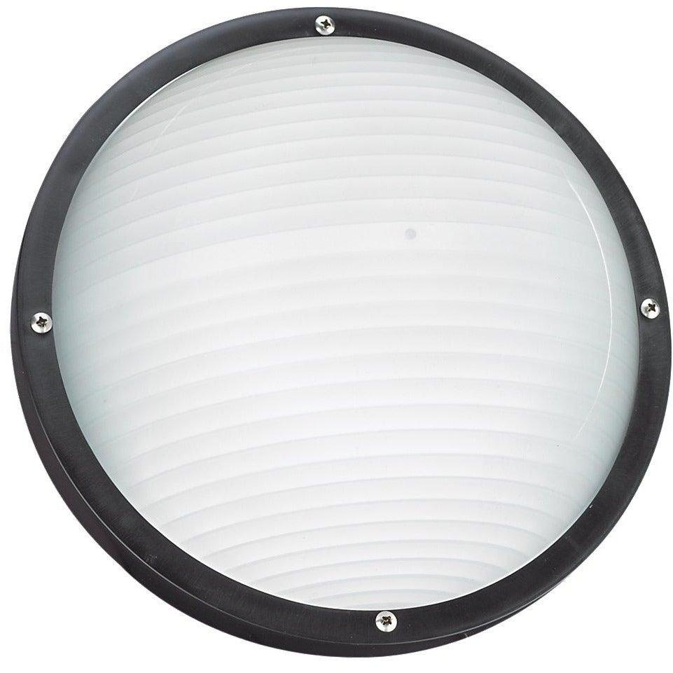 Sea Gull Collection - 83057-12 - Generation Lighting - Bayside - Outdoor Round Marine Light - Black