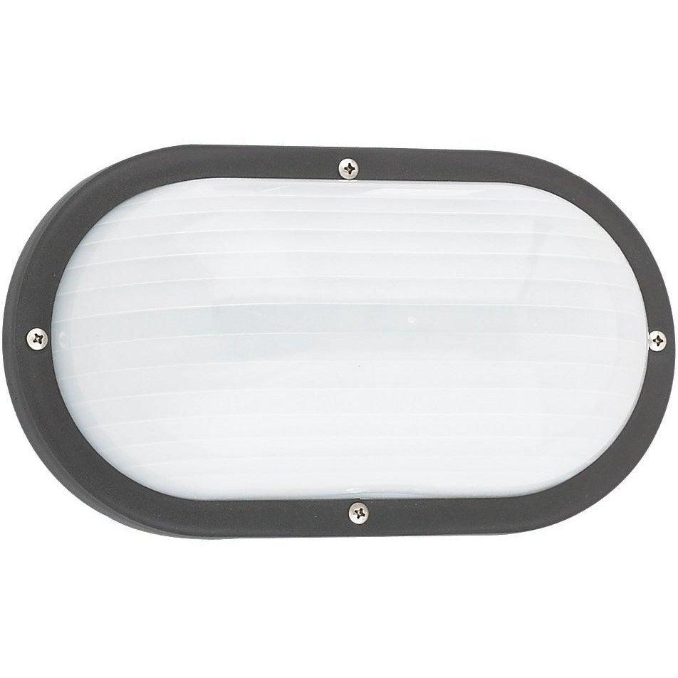 Sea Gull Collection - 8335-12 - Generation Lighting - Bayside - Outdoor Oval Marine Light - Black