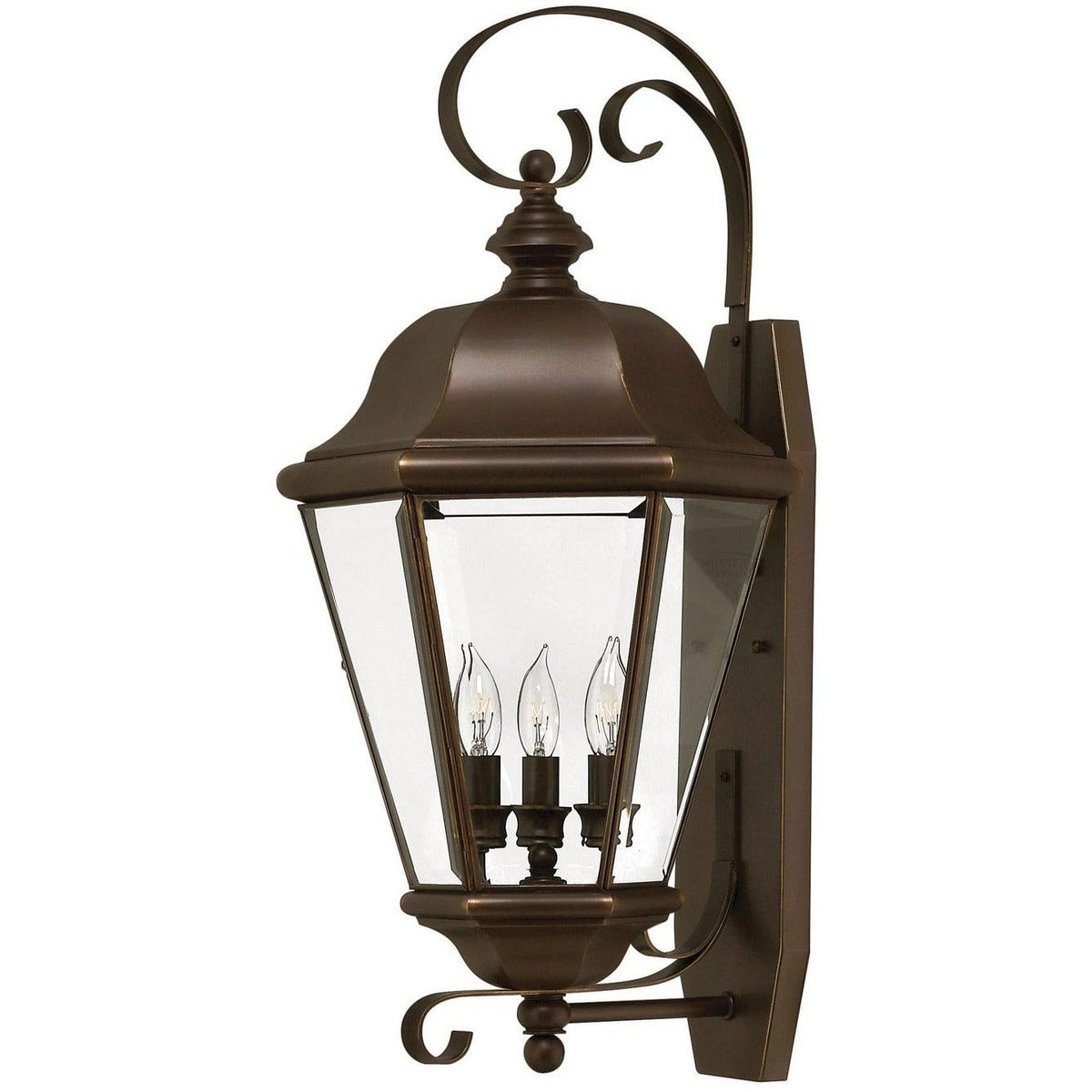 Hinkley Canada - 2428CB - Three Light Wall Mount - Clifton Park - Copper Bronze