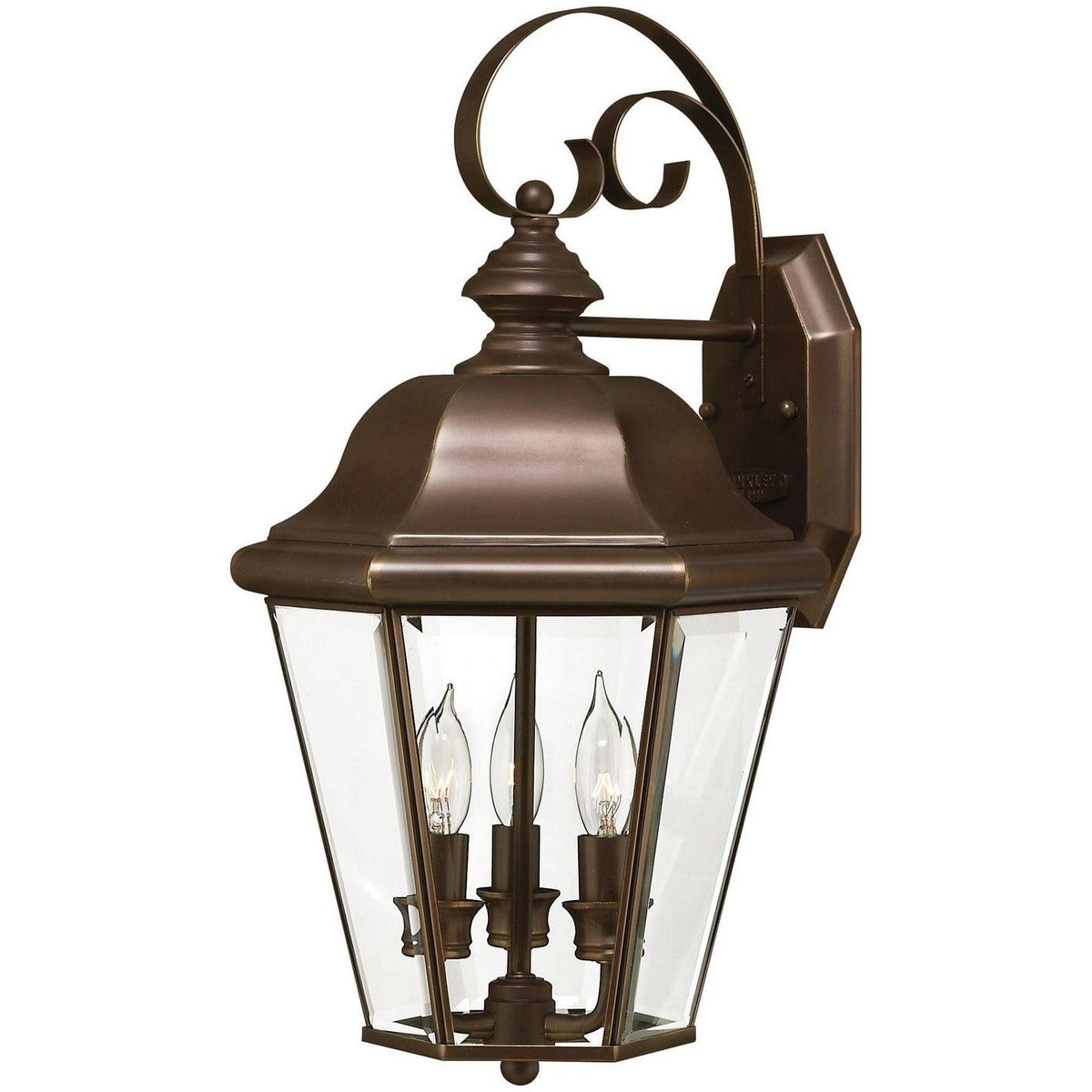 Hinkley Canada - 2424CB - Three Light Wall Mount - Clifton Park - Copper Bronze