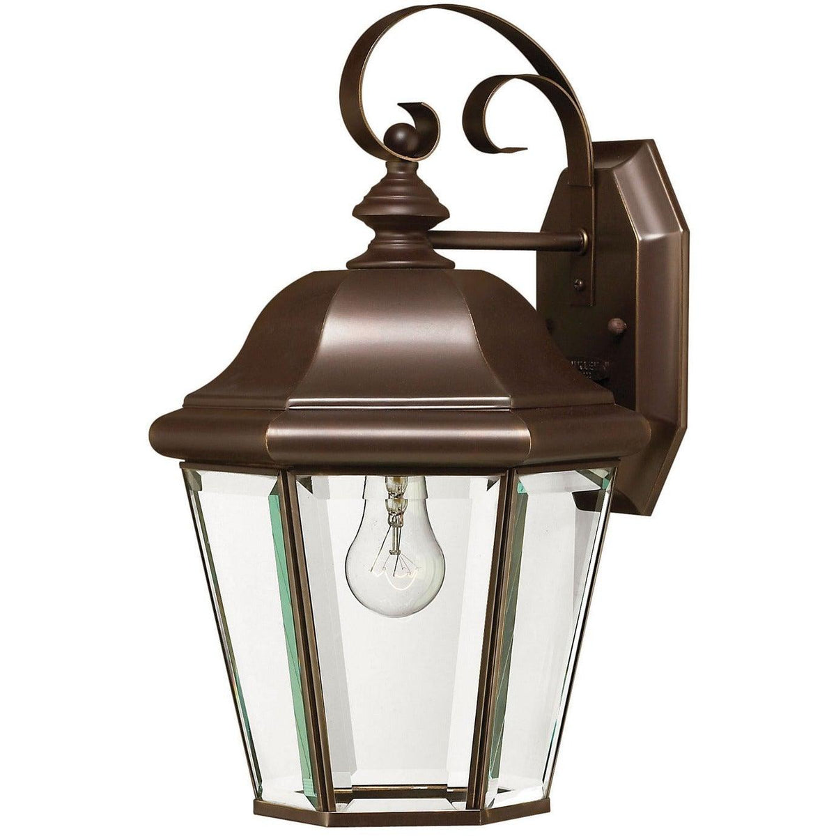 Hinkley Canada - 2423CB - One Light Wall Mount - Clifton Park - Copper Bronze