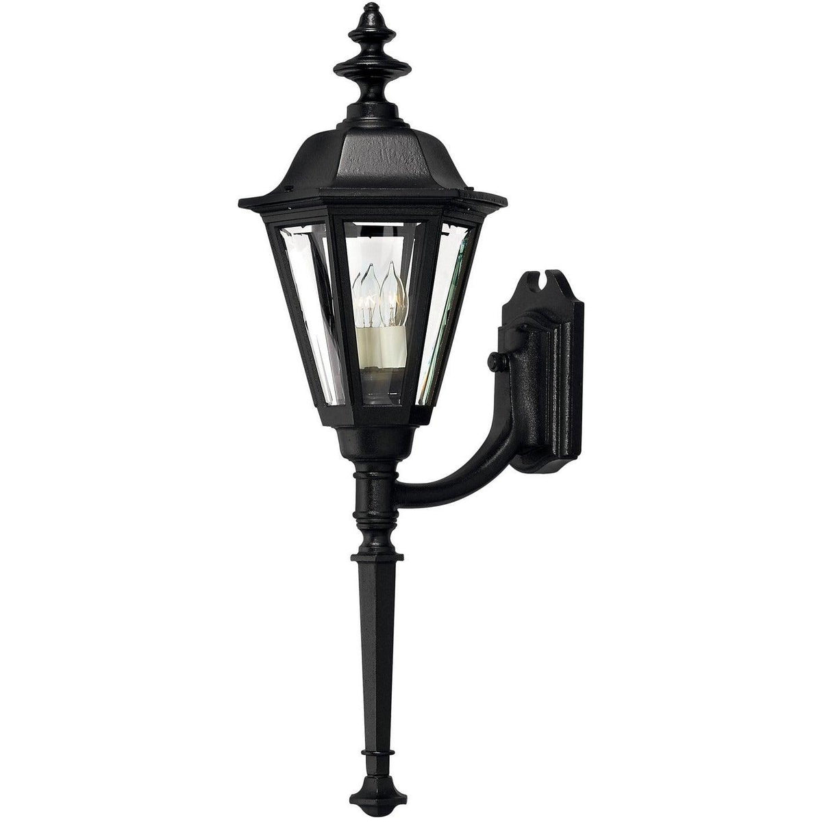 Hinkley Canada - 1440BK - One Light Wall Mount - Manor House - Black