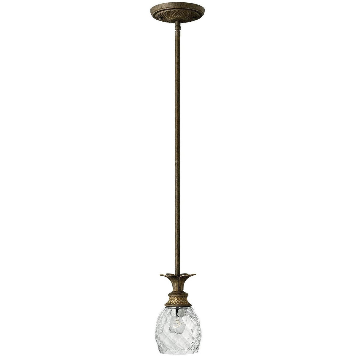 Hinkley Canada - 5317PZ - One Light Pendant - Plantation - Pearl Bronze