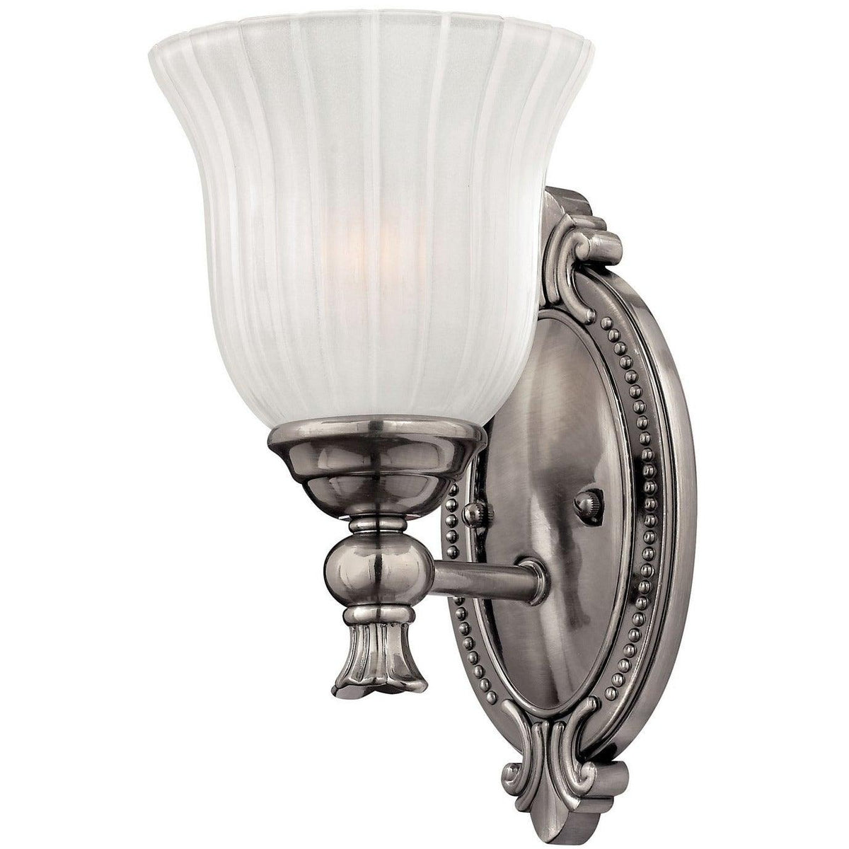 Hinkley Canada - 5580PL - One Light Bath Sconce - Francoise - Polished Antique Nickel