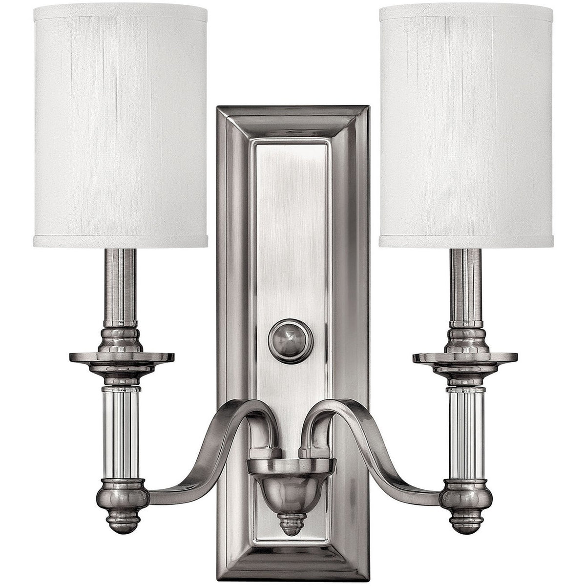 Hinkley Canada - 4792BN - Two Light Wall Sconce - Sussex - Brushed Nickel