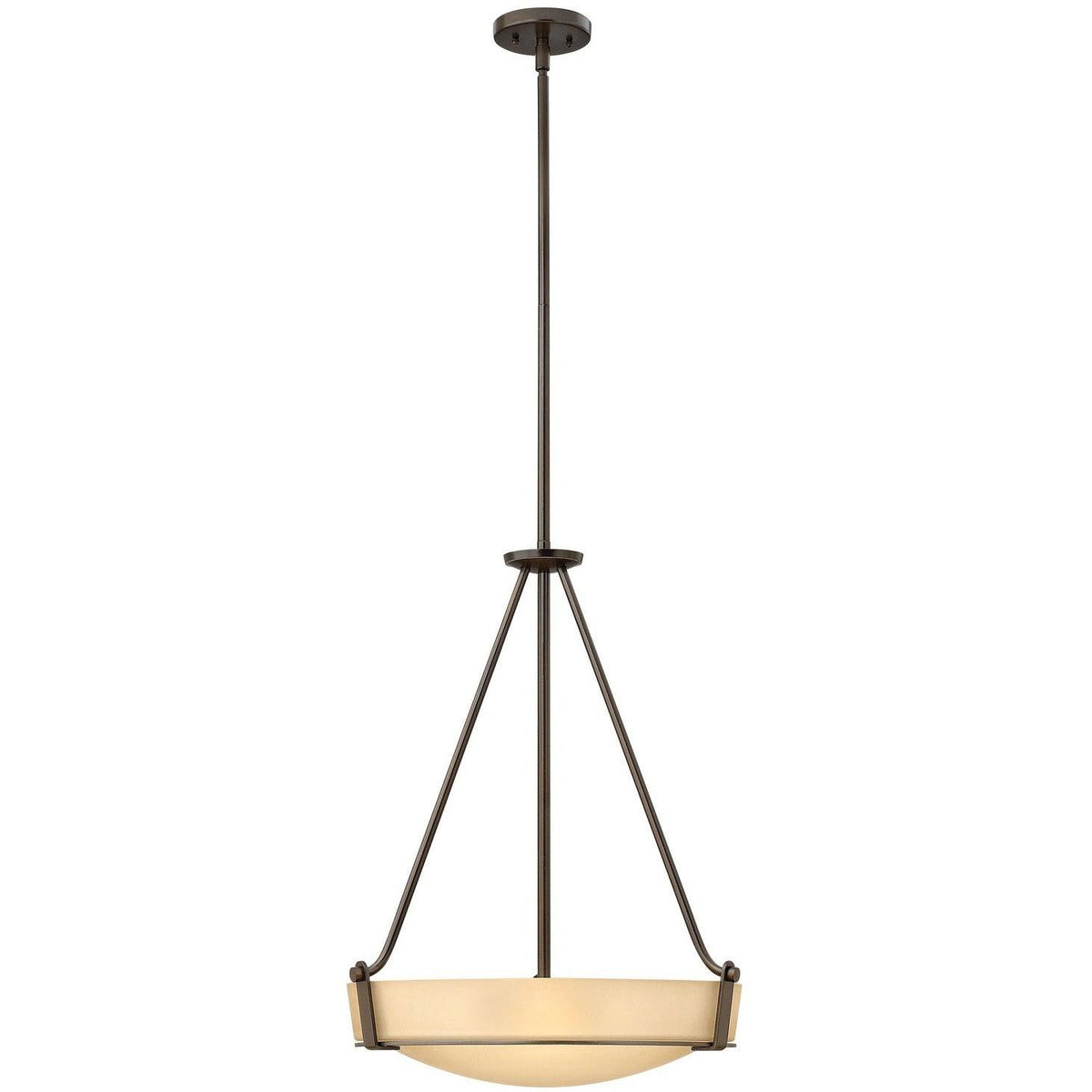 Hinkley Canada - 3222OB - Four Light Foyer Pendant - Hathaway - Olde Bronze