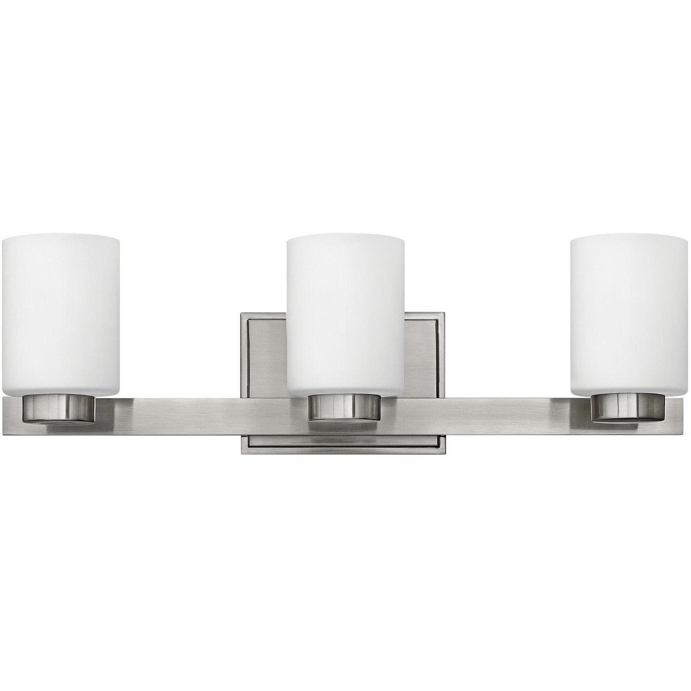 Hinkley Canada - 5053BN - Three Light Bath - Miley - Brushed Nickel