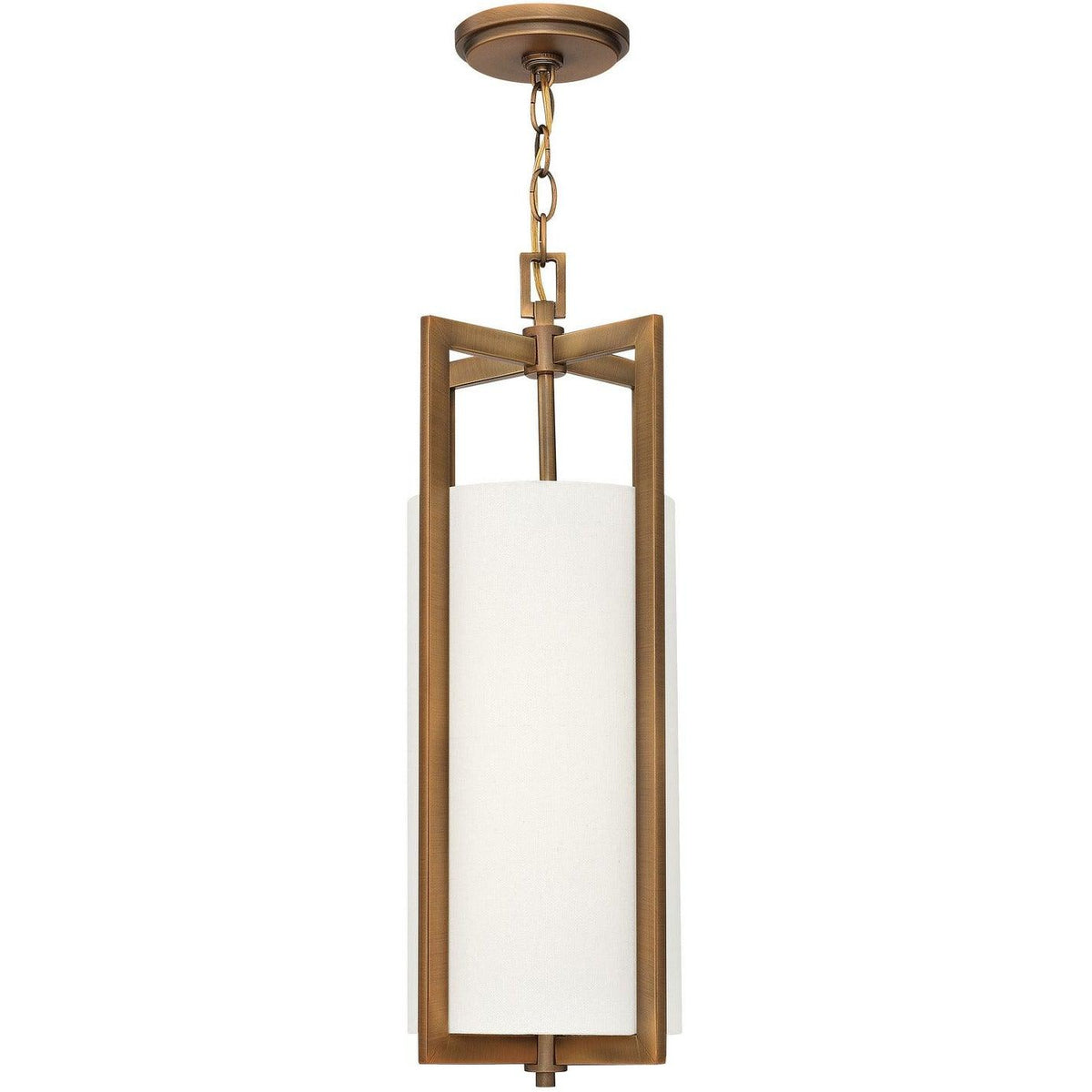 Hinkley Canada - 3217BR - One Light Pendant - Hampton - Brushed Bronze