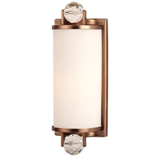 Hudson Valley - 491-BB - One Light Bath Bracket - Prescott - Brushed Bronze