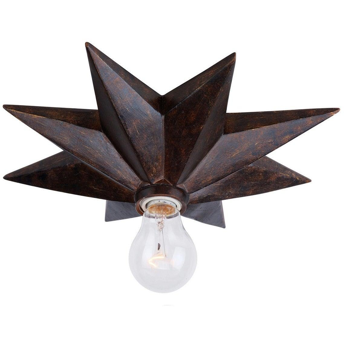 Crystorama - 9230-EB_CEILING - One Light Ceiling Mount - Astro - English Bronze