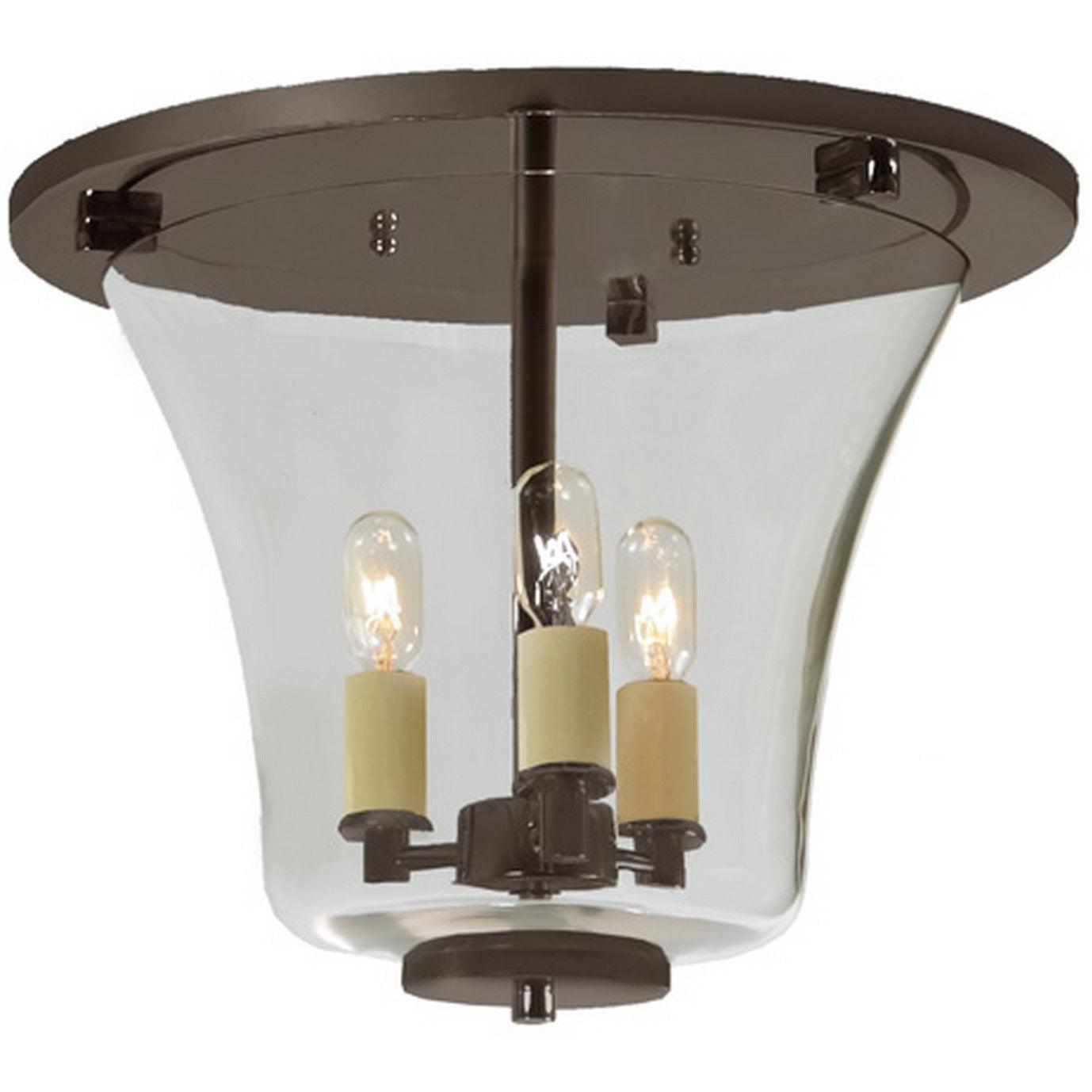 JVI Designs - 1181 - Flush Mount - Greenwich - Oil Rubbed Bronze