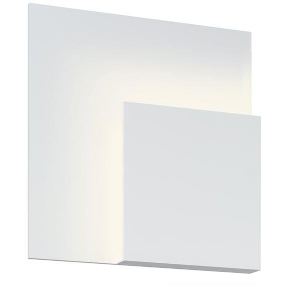Sonneman - A Way of Light - 2369.98 - LED Wall Sconce - Corner Eclipse - Textured White