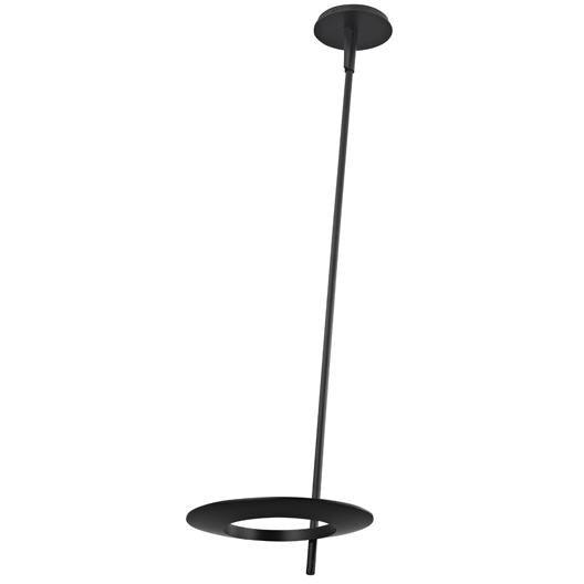 Sonneman - A Way of Light - 2419.25 - LED Ceiling Torchiere - Ringlo - Satin Black