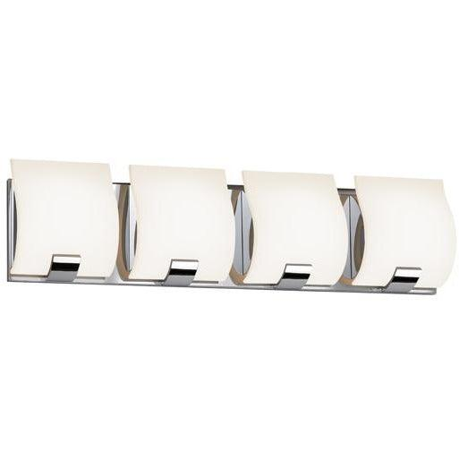 Sonneman - A Way of Light - 3884.01LED - LED Bath Bar - Aquo LED - Polished Chrome