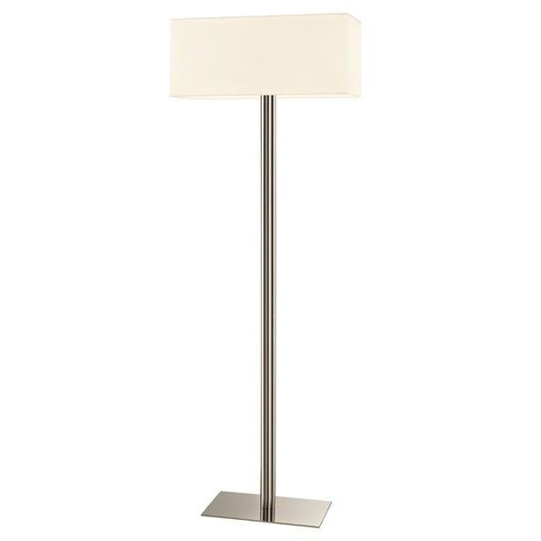 Sonneman - A Way of Light - 4613.35 - Two Light Floor Lamp - Madison - Polished Nickel