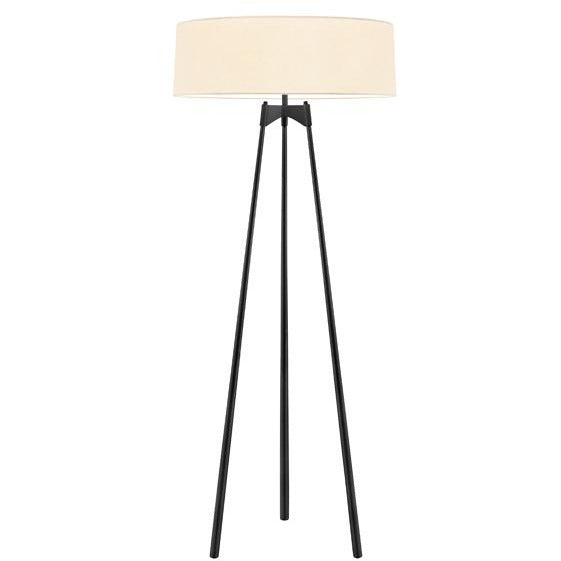 Sonneman - A Way of Light - 6170.25 - Three Light Floor Lamp - Torii - Satin Black