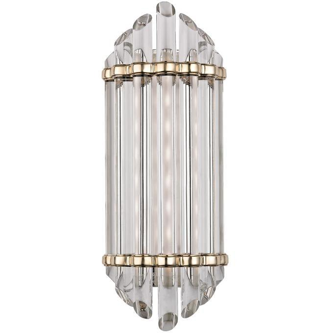 Hudson Valley - 408-AGB - LED Bath Bracket - Albion - Aged Brass