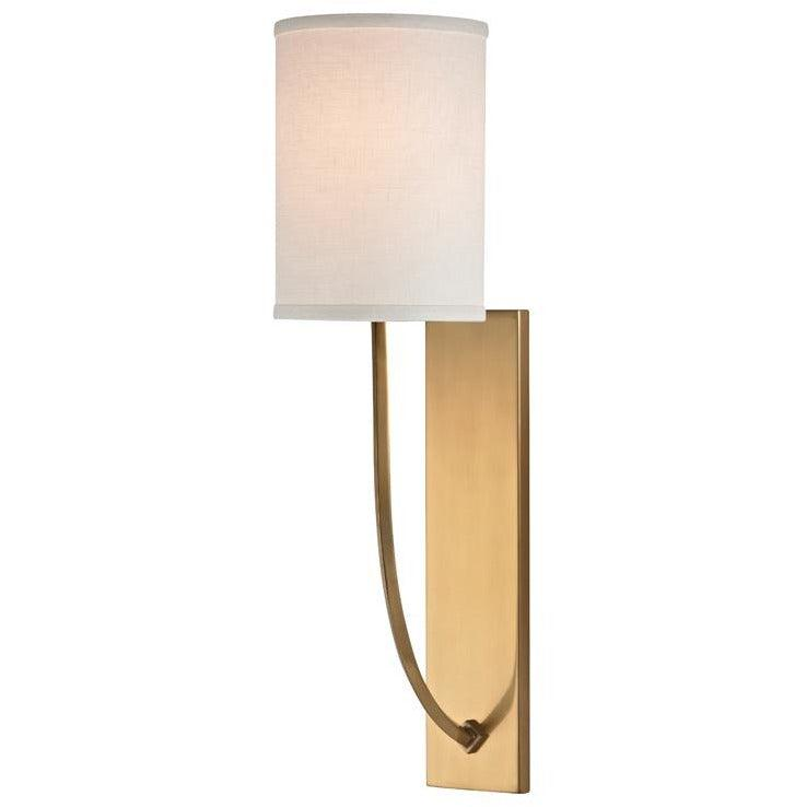 Hudson Valley - 731-AGB - One Light Wall Sconce - Colton - Aged Brass