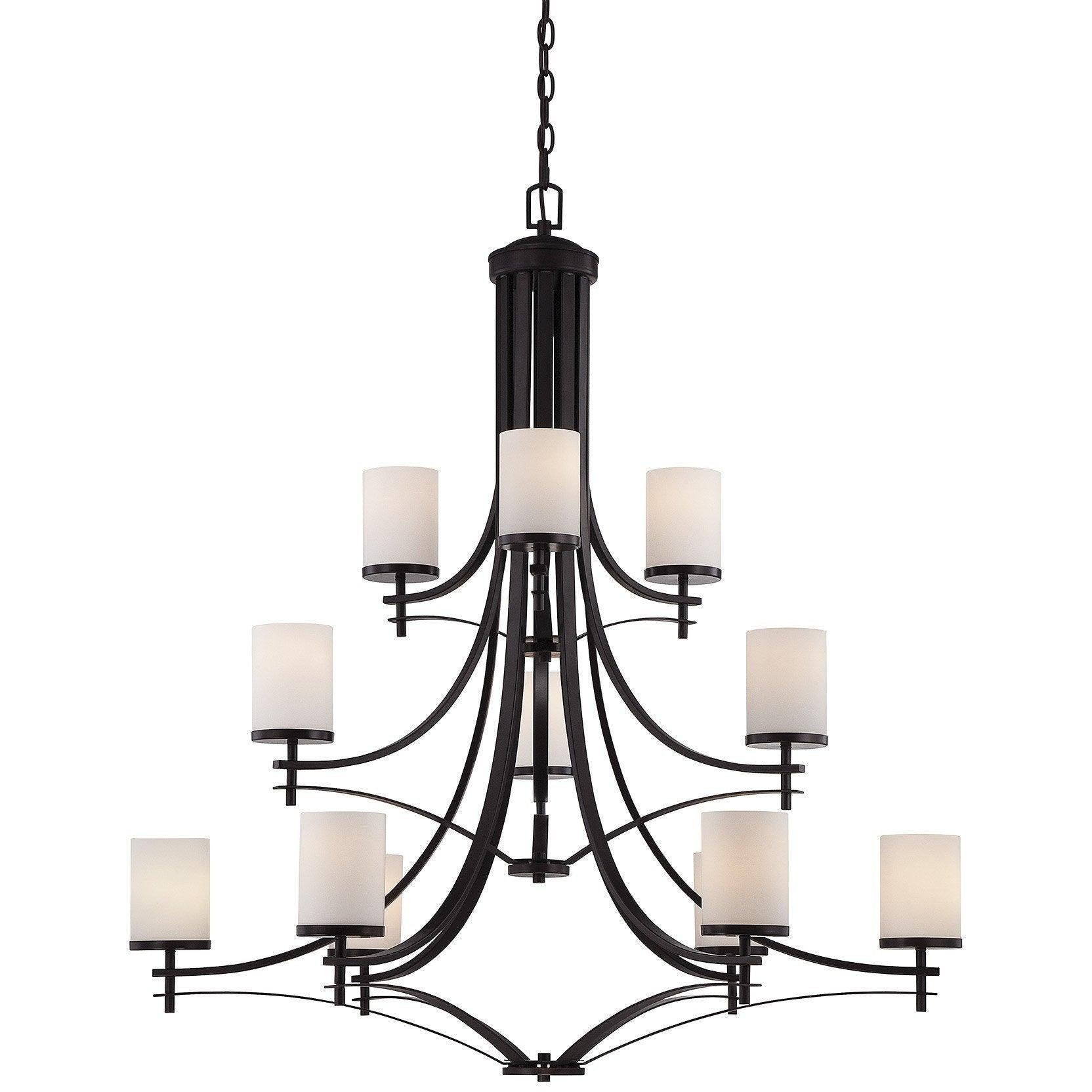 Savoy House - 1-332-12-13 - 12 Light Chandelier - Colton - English Bronze