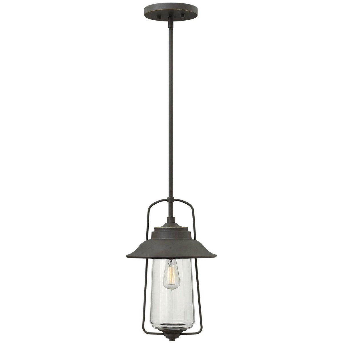 Hinkley Canada - 2862OZ - One Light Hanging Lantern - Belden Place - Oil Rubbed Bronze