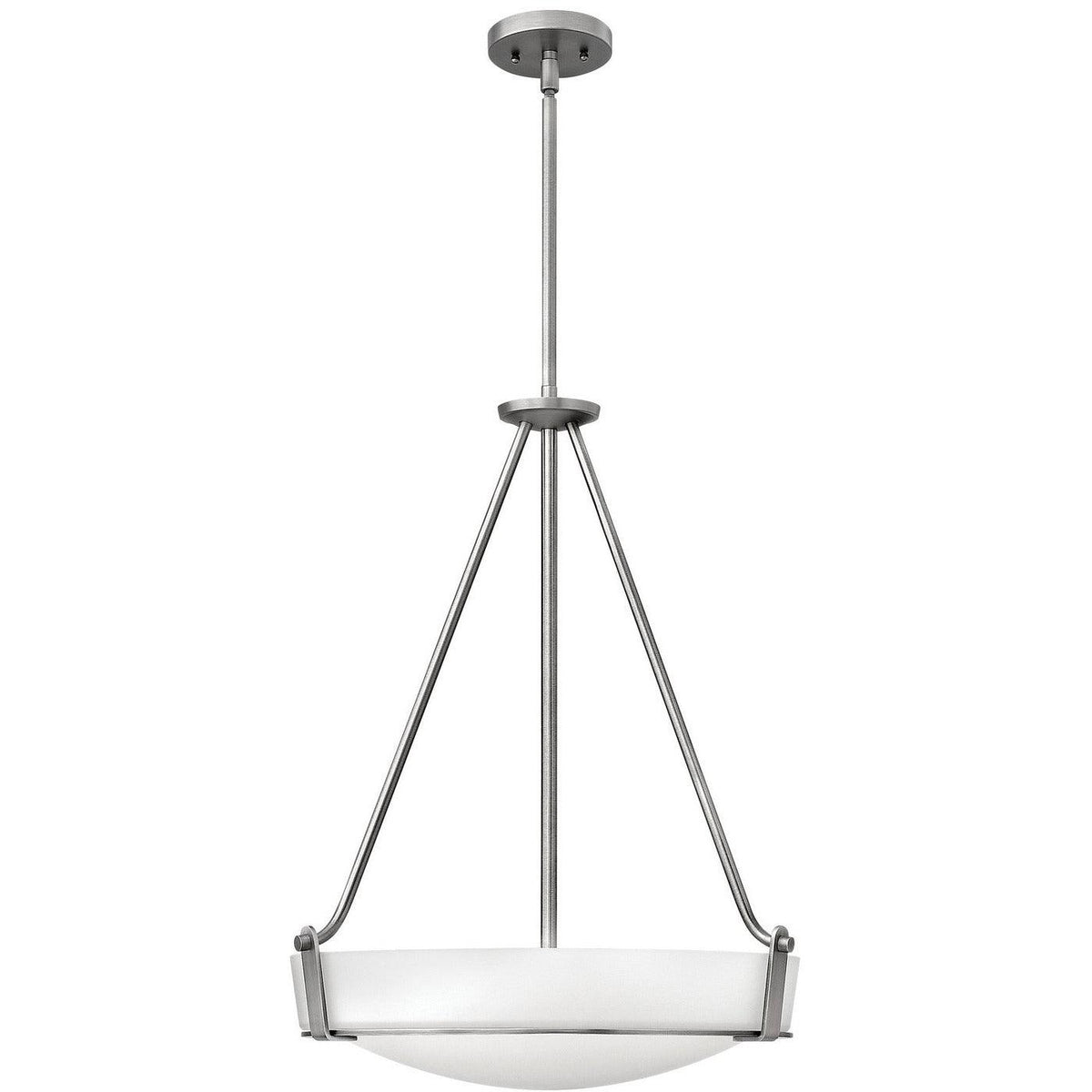 Hinkley Canada - 3222AN-LED - LED Foyer Pendant - Hathaway - Antique Nickel