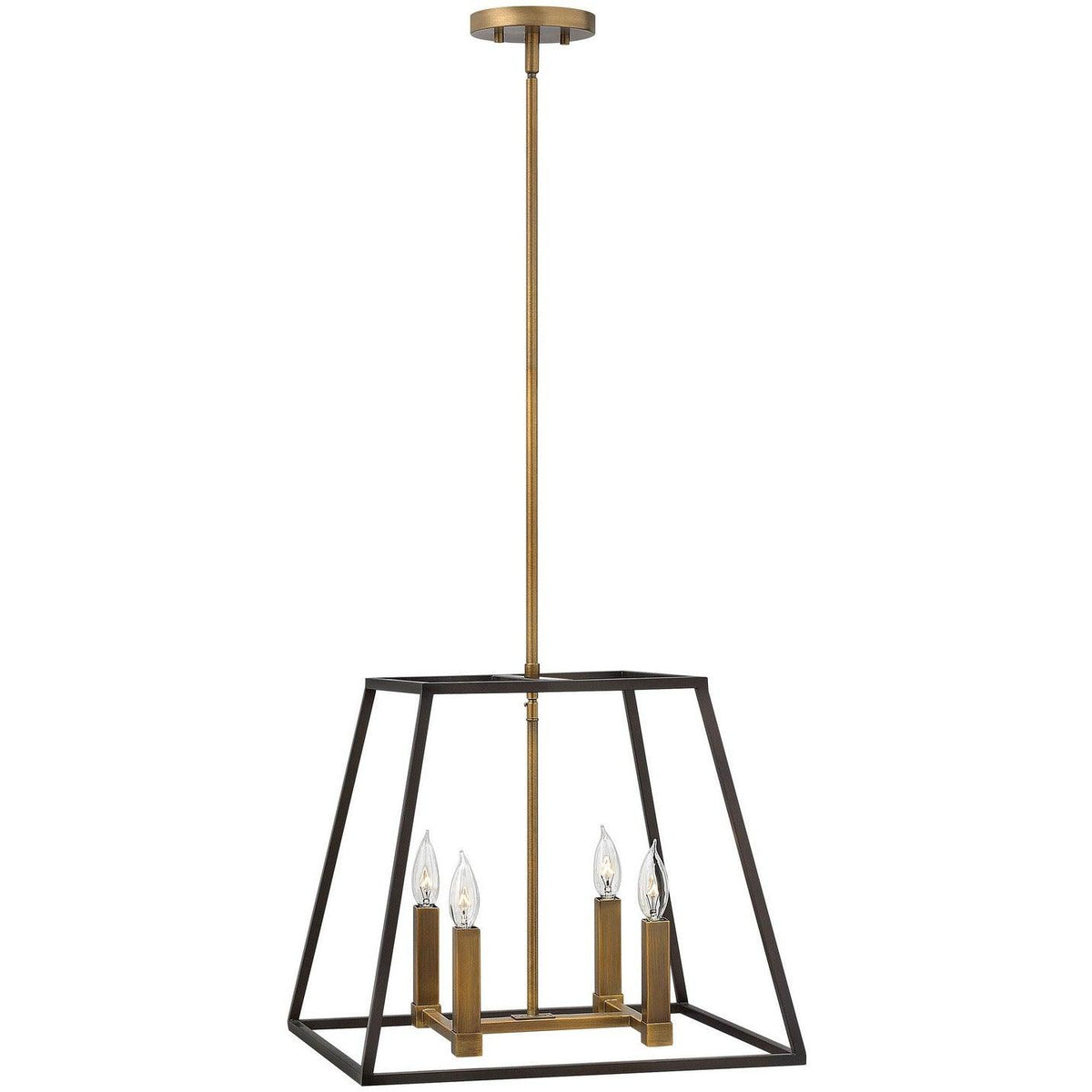 Hinkley Canada - 3334BZ - Four Light Pendant - Fulton - Bronze