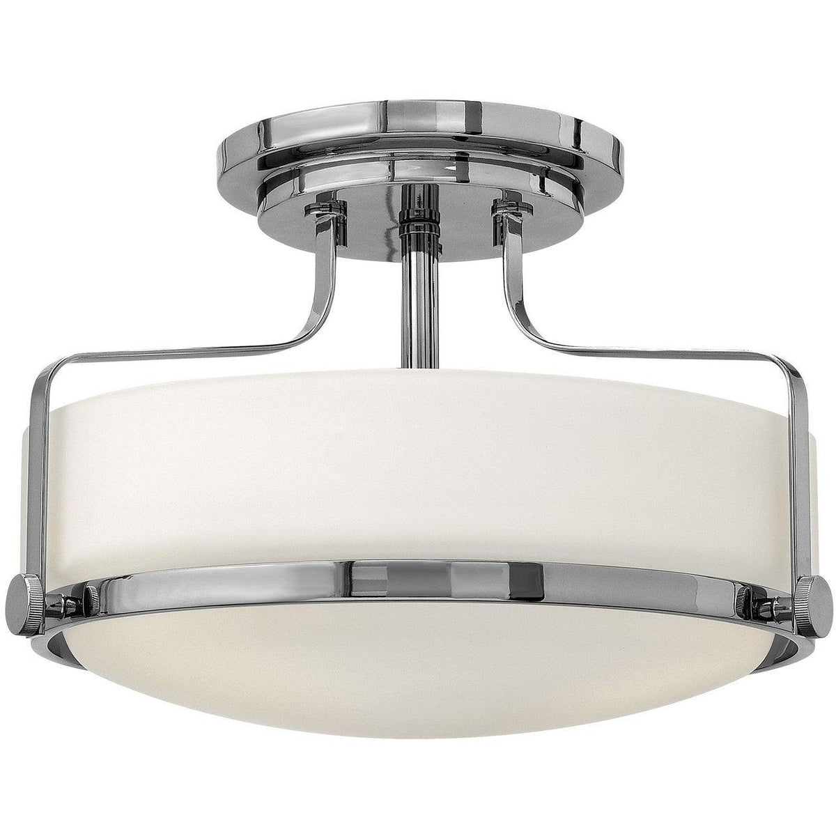 Hinkley Canada - 3641CM - Three Light Semi-Flush Mount - Harper - Chrome