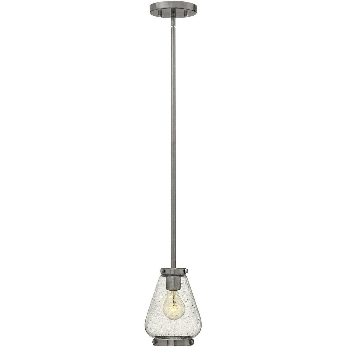 Hinkley Canada - 3687BN - One Light Pendant - Finley - Brushed Nickel