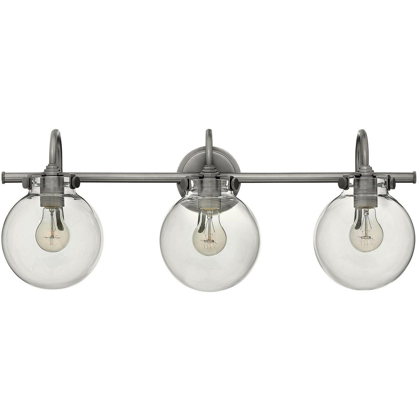 Hinkley Canada - 50034AN - Three Light Bath - Congress - Antique Nickel