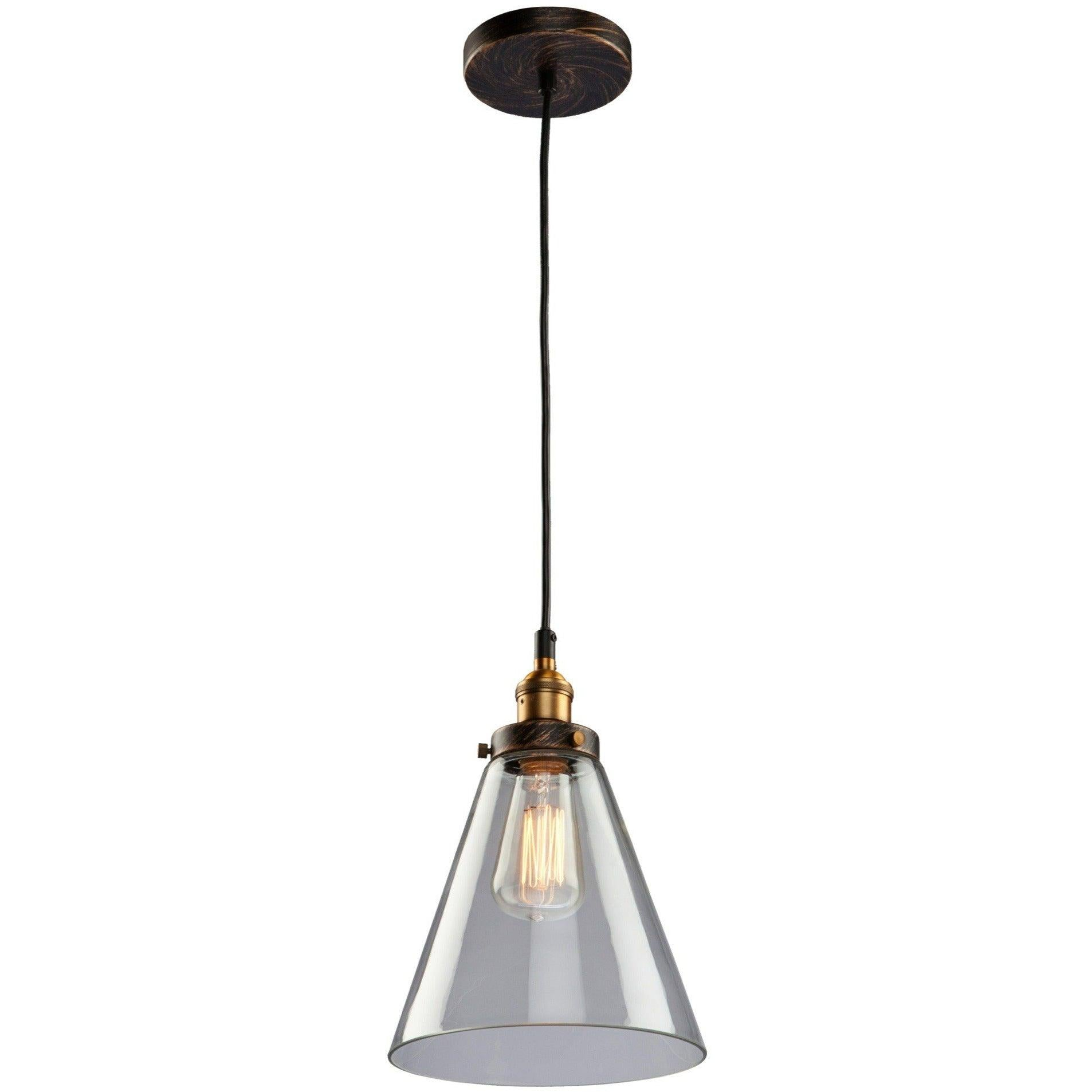 Artcraft Lighting - AC10166 - One Light Pendant - Greenwich - Bronze & Copper