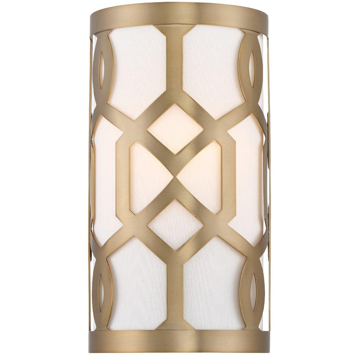 Crystorama - 2262-AG - One Light Wall Mount - Jennings - Aged Brass