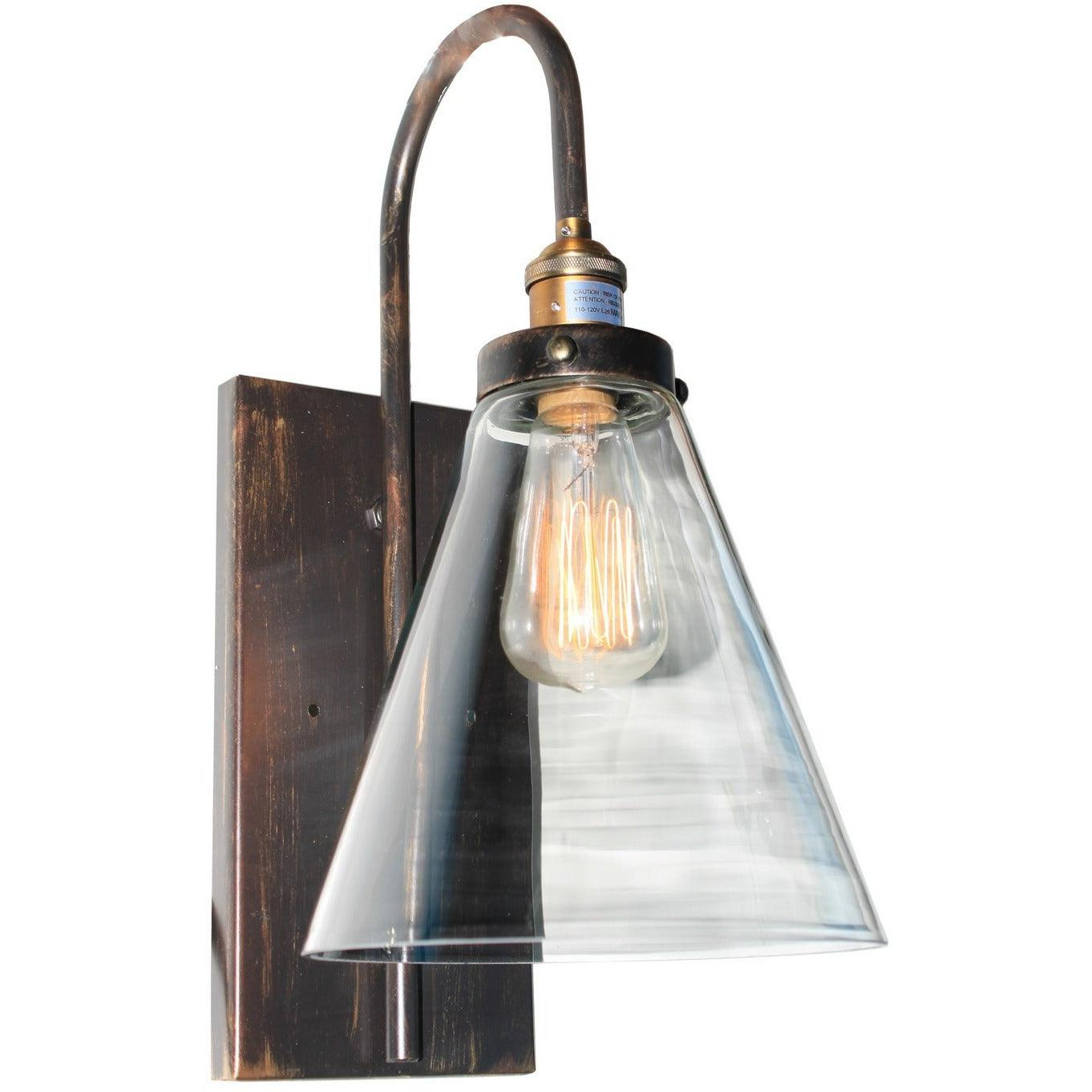 Artcraft Lighting - AC10169 - One Light Wall Sconce - Greenwich - Bronze & Copper