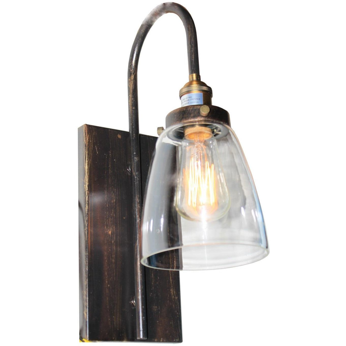 Artcraft Lighting - AC10164 - One Light Wall Sconce - Greenwich - Bronze & Copper