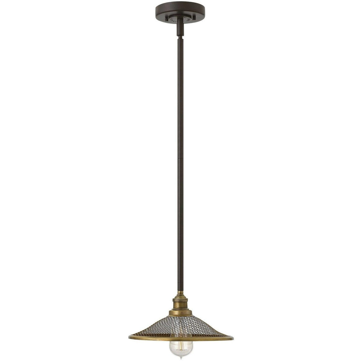 Hinkley Canada - 4367KZ - One Light Pendant - Rigby - Buckeye Bronze
