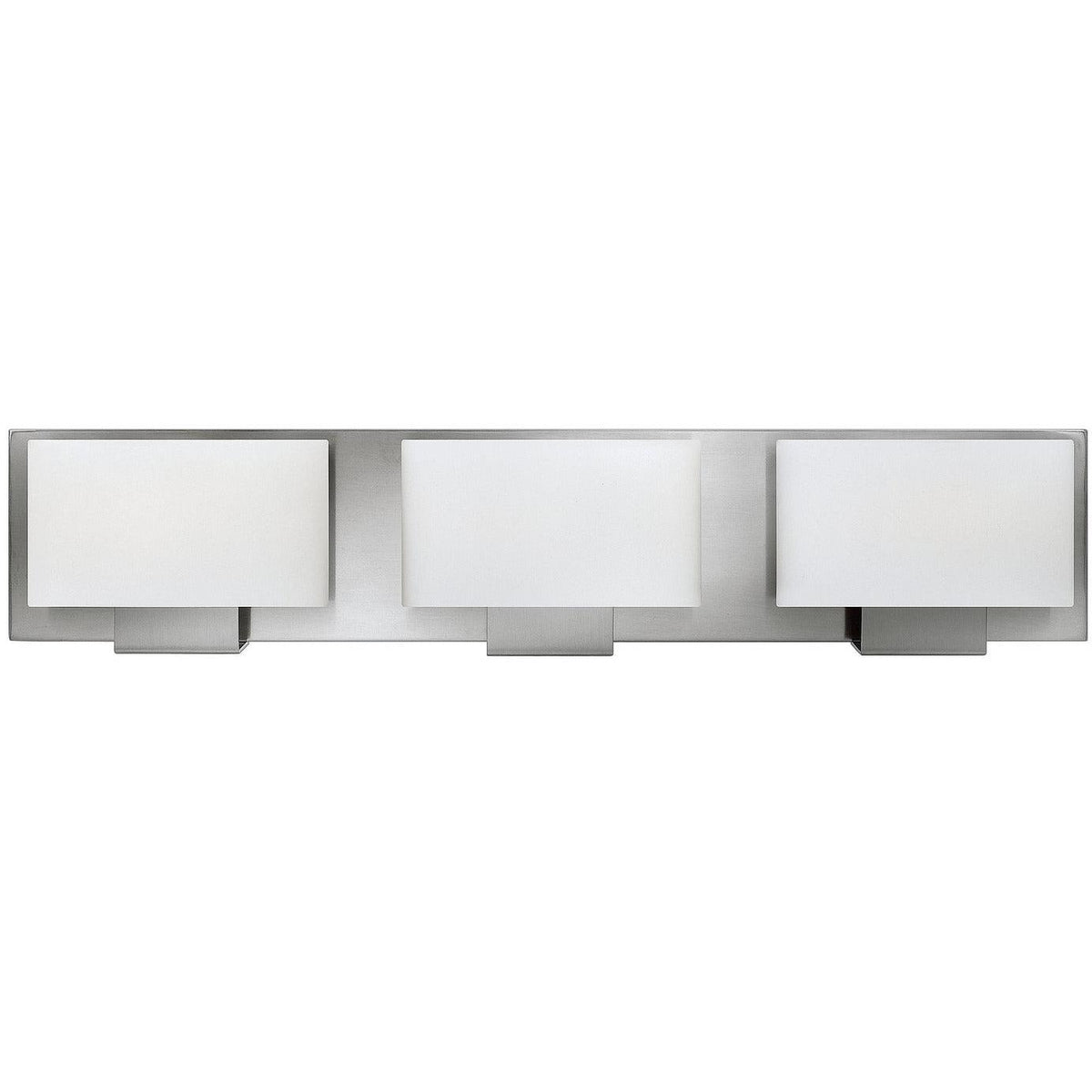 Hinkley Canada - 53553BN - Three Light Bath - Mila - Brushed Nickel