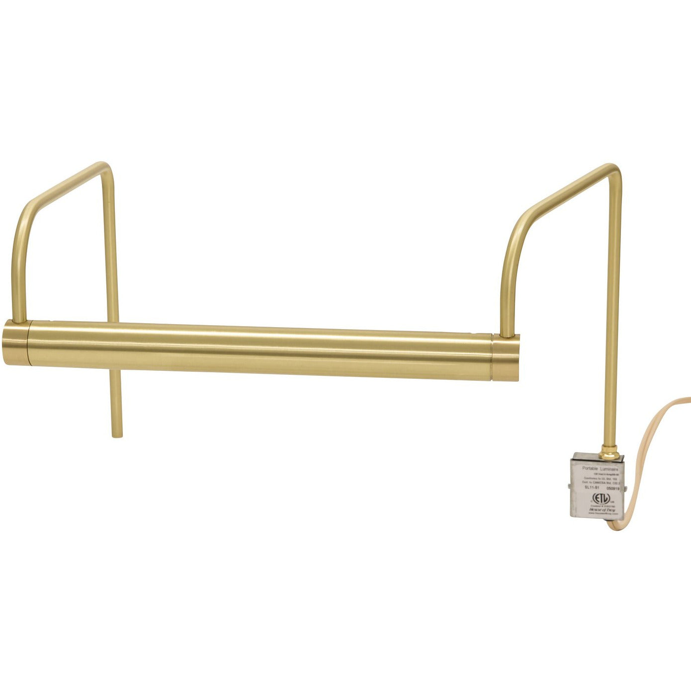 House of Troy - SL11-51 - Two Light Picture Light - Slim-line - Satin Brass