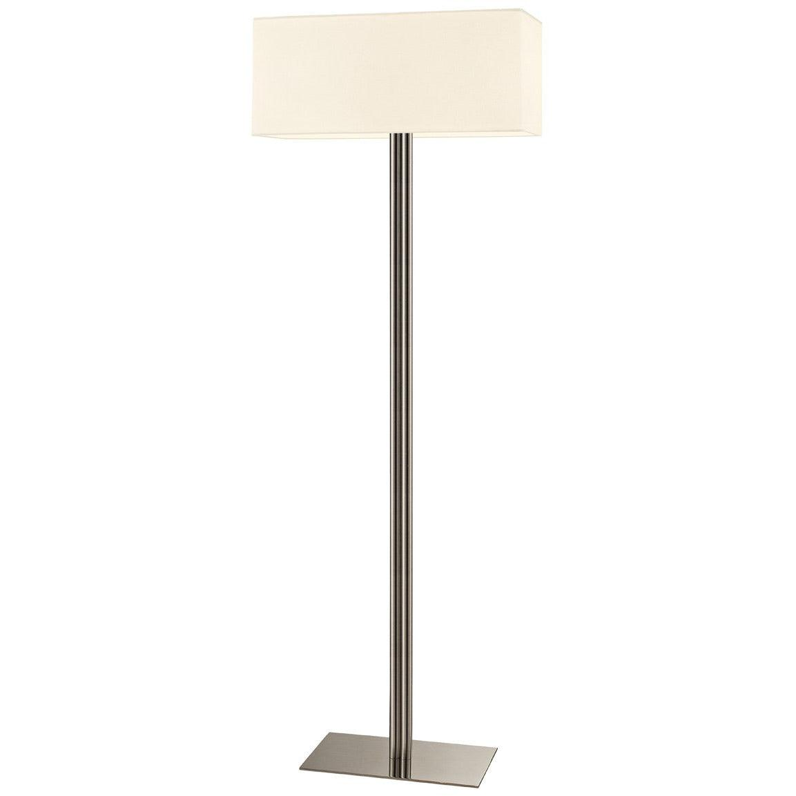 Sonneman - A Way of Light - 4613.13 - Two Light Floor Lamp - Madison - Satin Nickel